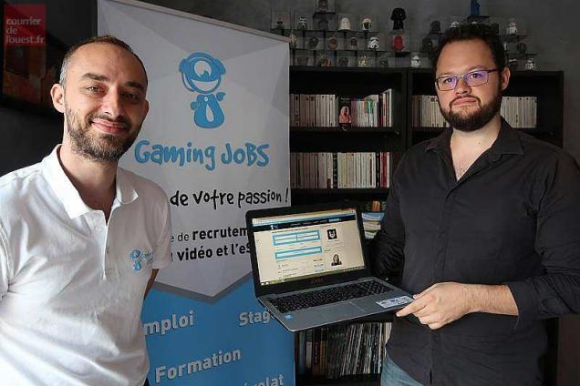 Logo du partenaire Verrières-en-Anjou La plateforme d'emploi Gaming Jobs entre en jeu